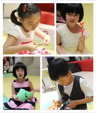 幼儿园剪纸玫瑰花步骤图片